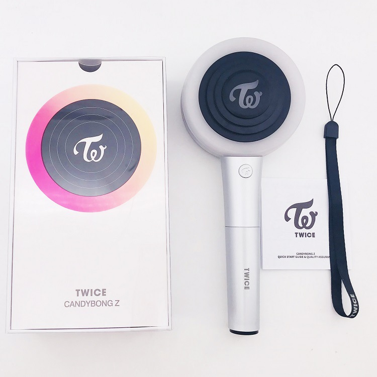 KPOP TWICE Official Light CANDY BONG Z TWICE Ver.2 With Bluetooth CANDY BONG Z Light Stick Concerts Album Glow Lamp Lightstick