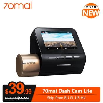 70mai Dash Cam Lite Version 1080P GPS Module 24H Parking Monitor 130FOV Night Vision Car DVR Camera Wifi Video Recorder Car DVR