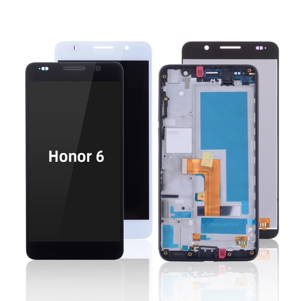 H60-L04 Module Assembly For Huawei Honor 6 Display With Frame Original Lcd For Huawei Honor 6 H60-L12  Replacement For Huawei Ho