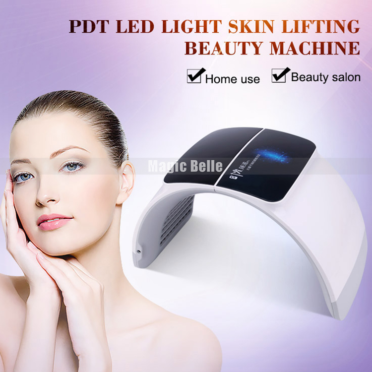 NEWEST LED Photon Therapy 7 Colors Light Treatment Facial Beauty Skin Care Rejuvenation Machine