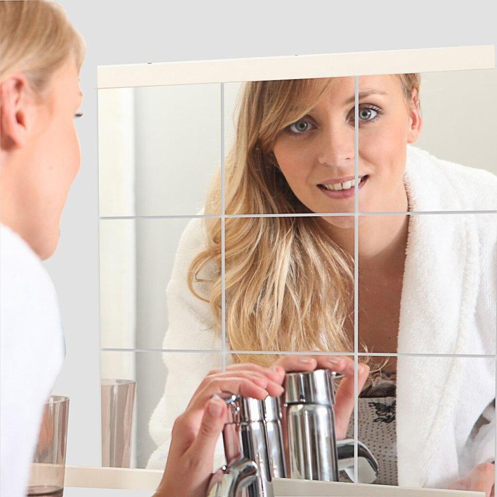 2PCS Soft Mirror Sticker Mirror Full Body Mirror Practice Wall Stick Haha Mirror
