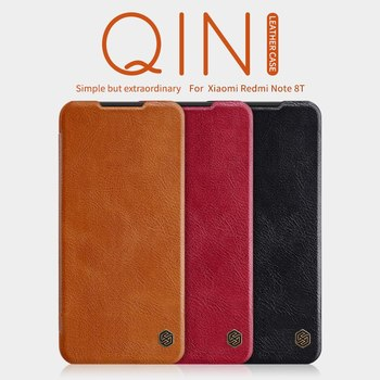 NILLKIN Flip Leather Case for Xiaomi Redmi Note 8T Phone Cover Luxury Wallet Coque Vintage Purse Capa Para Smartphone Card Bag