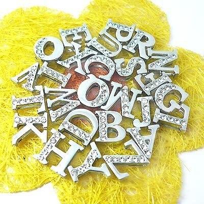 slide letters abc letters diy letters rhinestone letters,alphabet letters a-z,2