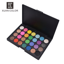 Beauty Glazed Makeup Private Label 28 Colors Eyeshadow Palette Shimmer Matte Eye shadow Palette Ladies Trendy Cosmetic tools(China)