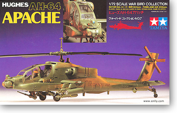 TAMIYA 60707 1/72 Scale Hughes AH-64 Apache Helicopter Military Aircraft Airplane Toy Plastic Assembly Building Model Kit dragon model 1 35 scale military models 6633 sturmgeschutz iii ausf g late type zimmerit coating plastic model kit