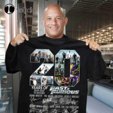 20 Year anniversary Of Fast And Furious 2001-2021 Thank For The Memories Signature T-shirt