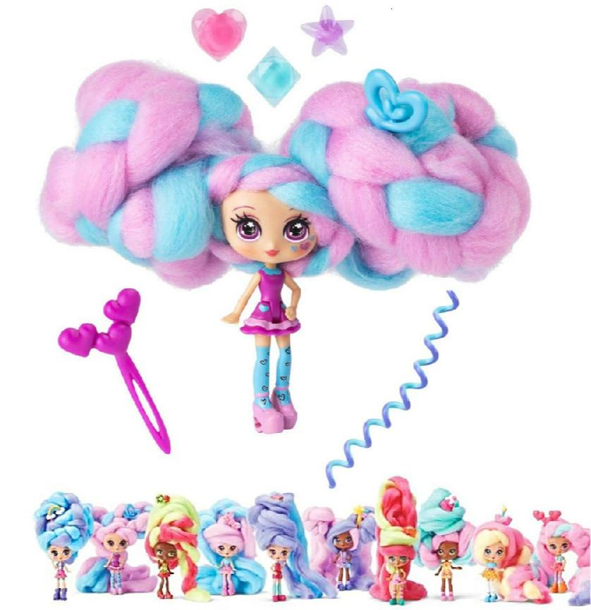 30センチメートル人形スウィートトリートチャームおもちゃロック笑復刻マシュマロキャンディ髪香り人形フィギュア玩具子供のためのクリスマスギフト