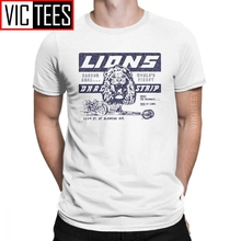 Lions Drag Strip Once Upon A Time In Hollywood Men's T Shirt