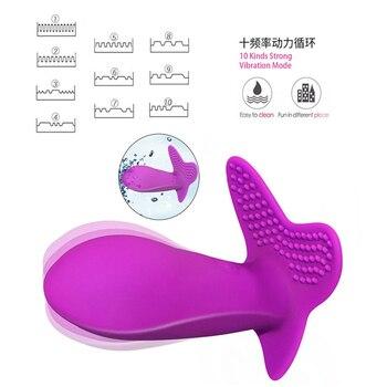 Female Masturbatio Sex Toy for Woman Wearable Vibrator Dildo Vibrating Panties Remote Control Massage G Spot Clitoris Stimulator