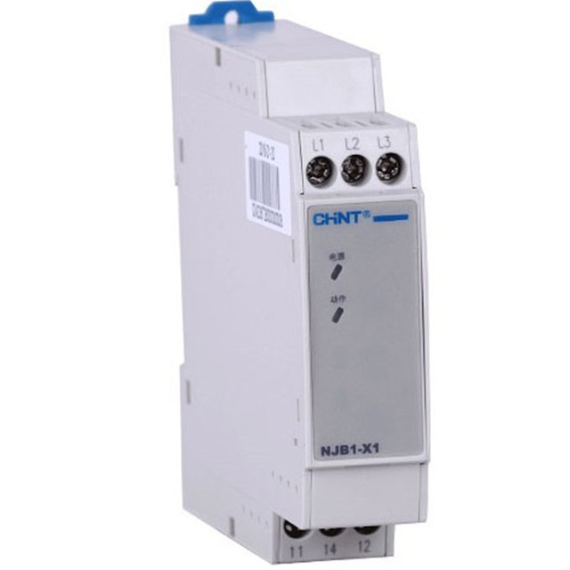 Chint NJB1 X 三相交流電圧監視リレー位相シーケンス、欠相アンバランス保護素子 NJB1 X1