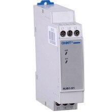 Chint NJB1 X relé de monitoramento de voltagem trifásica ac sequência, elementos de proteção do desequilíbrio da fase NJB1 X1