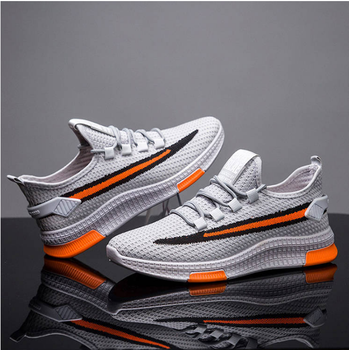Men Sneakers 2020 New Men Shoes Lace Up Breathable Mesh Male Trend Shoes Tenis Masculino Fashion Men Casual Shoes Krasovki