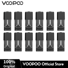 12Pcs VOOPOO Drag Nano Pod Cartridge 1ml Capacity 1.8ohm Pod Cartridge Electronic Cigarette Vape Replacement Kit