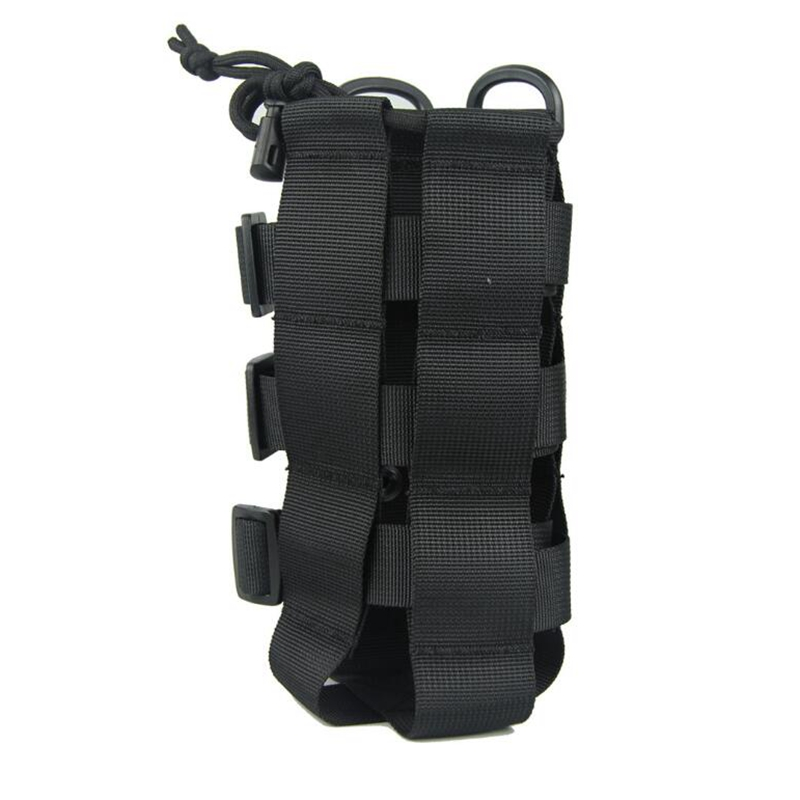 Nylon Water Bottle Bag Carrier Pouch Tactical Belt Hiking Camping Molle Holder