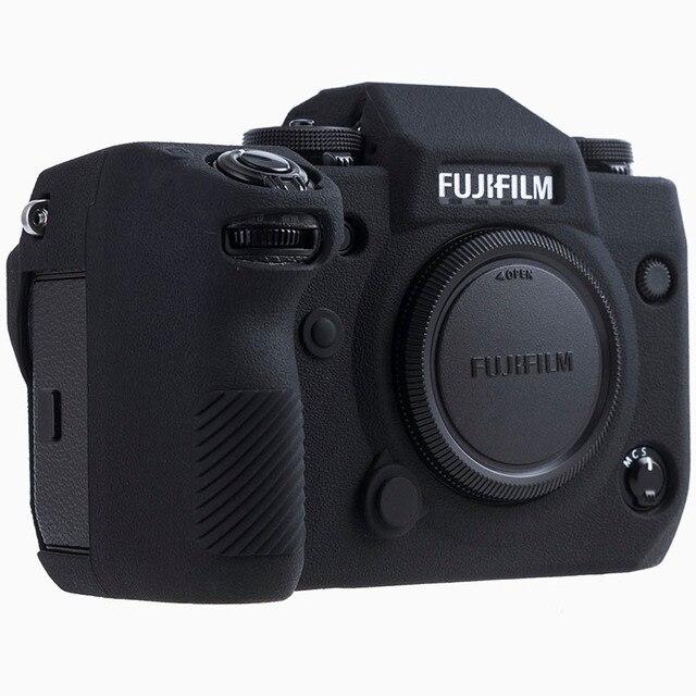 Силиконовый чехол для Fuji X H1 XH1, цифровой фотоаппарат высокого качества, текстурная поверхность, защитный чехол для FUJIFILM XH1 X H1