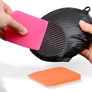 Image 3 - FOSHIO Soft Car Wrap tergipavimento TPU PPF pellicola protettiva installa raschietto finestra tinta fibra di carbonio vinile strumento di avvolgimento pulizia automatica