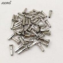 Spoke Wrench Size 3.24 mm Sliver Color 15 G 1.8 mm Brass Material 14.37 mm Longer Bike / Bicycle / MTB Spoke Nipples