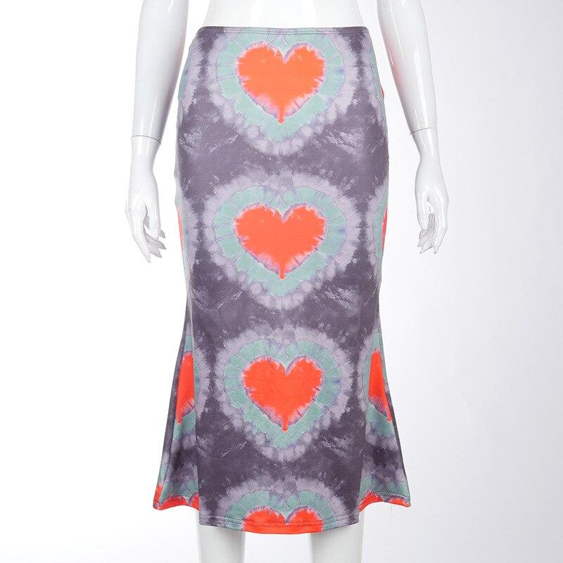 Letnie spódnice damskie Midi damskie eleganckie niskie spódniczka z wysokim stanem pakiet do bioder spódnice damskie Streetwear Retro na przyjęcie damskie Vestidos