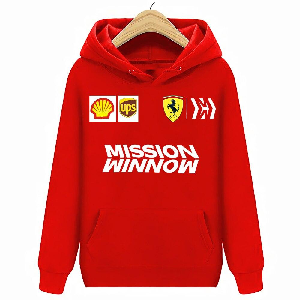Scuderia Ferrari Men's Team Hoodies Sweatshirts
