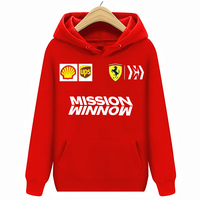 Scuderia Ferrari Men's Team Hoodies Sweatshirts