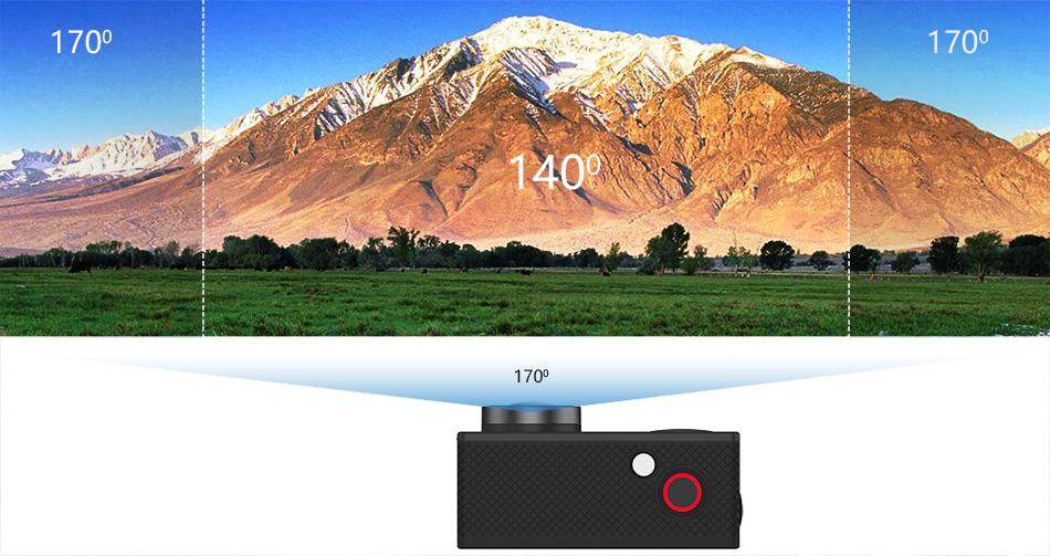 """EKEN H9R/H9 Ultra HD 4 K/30fps WiFi 2,0 """"170D impermeable bajo el agua 7"""