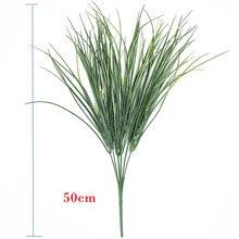 20 шт Пластиковые травы искусственные растения ненастоящие луковые