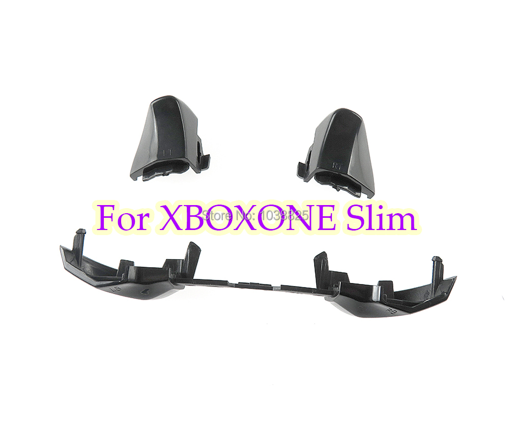 For XboxOne Slim Black LB RB Button LT RT Triggers Bumpers Controller For XBOX ONE S Gamepad