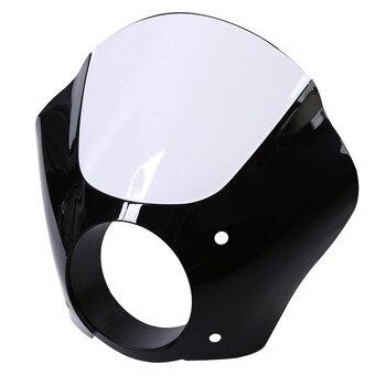 Reflektor motocyklowy Fairing W/zestaw do montażu blokady spustu dla Harley Sportster 1200 883 XL883 XLH1200
