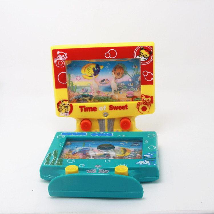 Television Computer Water Machine Model Water Machine Ring Game Console Kind of Nostalgic Product Yiwu Stall Toy Manufacturers B