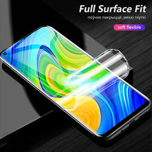 CHYI 3D Curved Film For Xiaomi Redmi Note 9 Screen Protector Full Cover 6.53inch Explosion proof Hydrogel Film Not Glass
