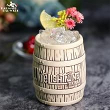 550ml Hawaii Tiki Mugs Cocktail Cup Beer Beverage Mug Wine Ceramic Ku.Ku.Kauioo