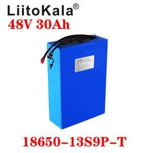 Image 3 - LiitoKala 48v 30ah 48v 1000w סוללה ליתיום יון 48V 30AH חשמלי אופני סוללה תא 48v קטנוע סוללה