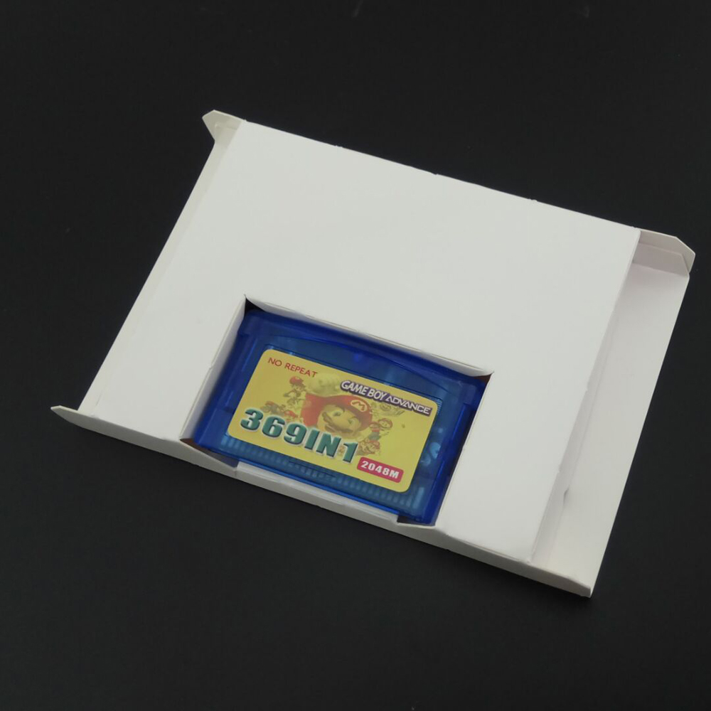 Japanese Game Card Game Cartridge Paper Box Case For Game Boy For GBA GBC