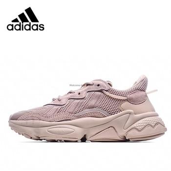 Original Adidas Originals OzweegoCoconut YesanGrass 3M reflective retro running shoes Men's and women's sizes 36-45 1