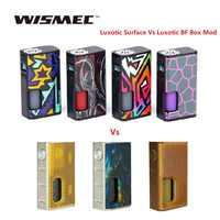 Wismec luxotic superfície 80 w tc caixa mod com 6.5ml garrafa se encaixa kestrel tanque e-cig vape mod vs luxótico bf caixa mod/sinuoso p228