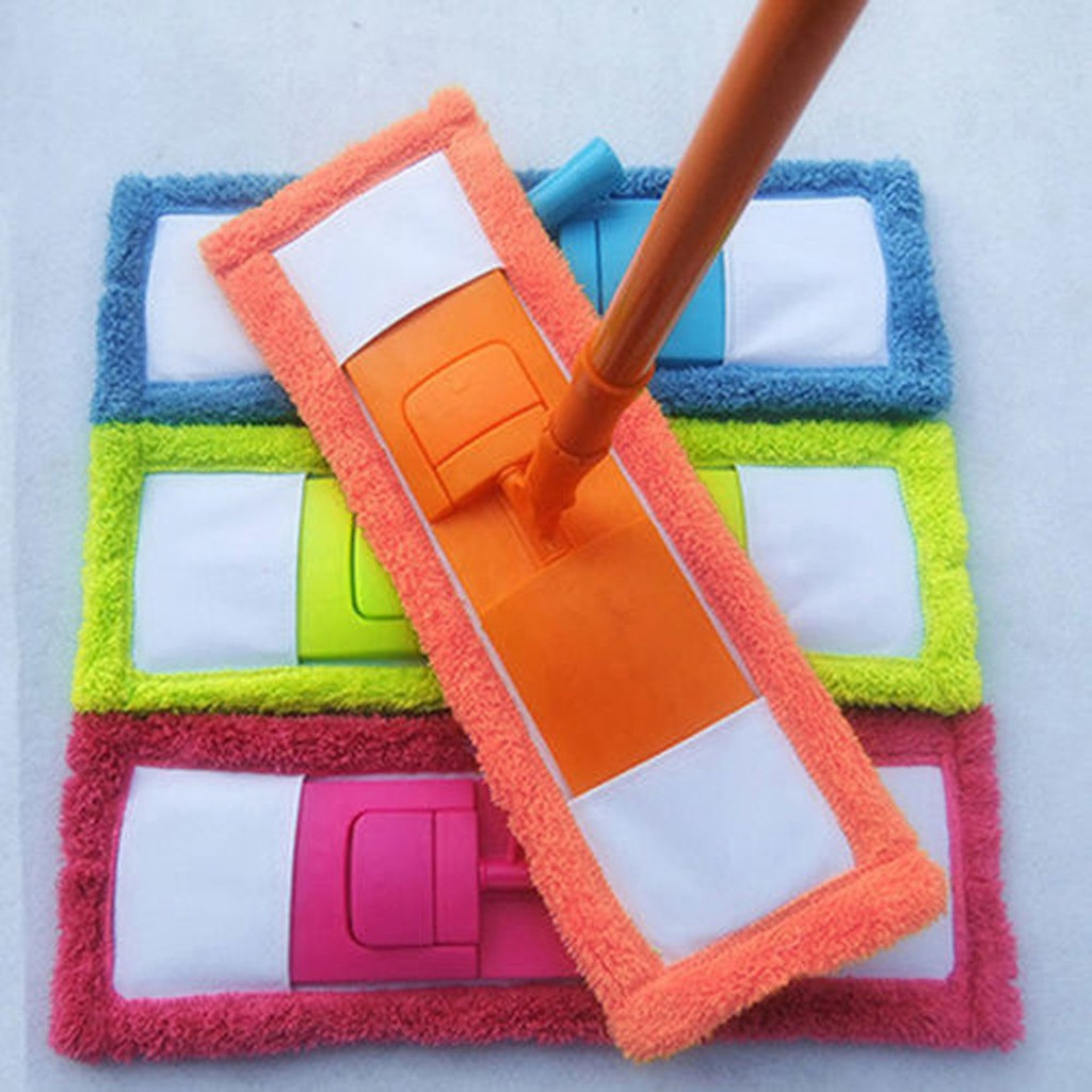 Mops Floor Replacement head Home Cleaning Pad Coral Velet Refill Household Dust Mop Head Replacement Microfiber