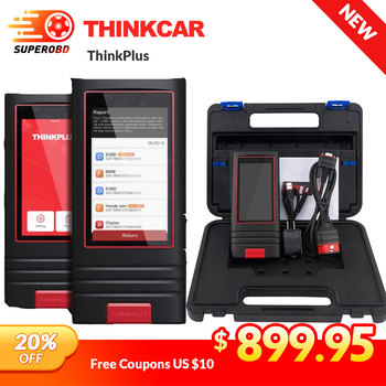 Thinkcar Thinkplus OBDII Code Reader 12V cars Auto scanner data stream VIN scan 1 year free update OBD2 Diagnostic Tool