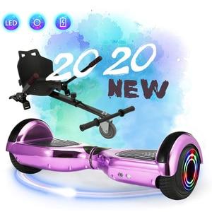 IScooter hoverboard 6,5 pulgadas y 8 pulgadas smart balance 2 ruedas scooter Eléctrico patín con bluetooth con control remoto giroskuter UL2722