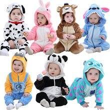 Infant Newborn Baby Girls Romper Winter Baby Clothe