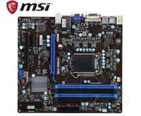 Originale della scheda madre MSI B75MA-P45 LGA 1155 DDR3 schede di supporto 22nm B75 scheda madre Desktop di schede