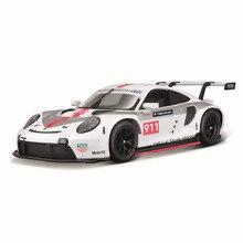 Bburago Maßstab 1:24 Porsche 911 RSR Weissach legierung racing auto Legierung Luxus Fahrzeug Diecast Autos Modell Spielzeug Sammlung Geschenk