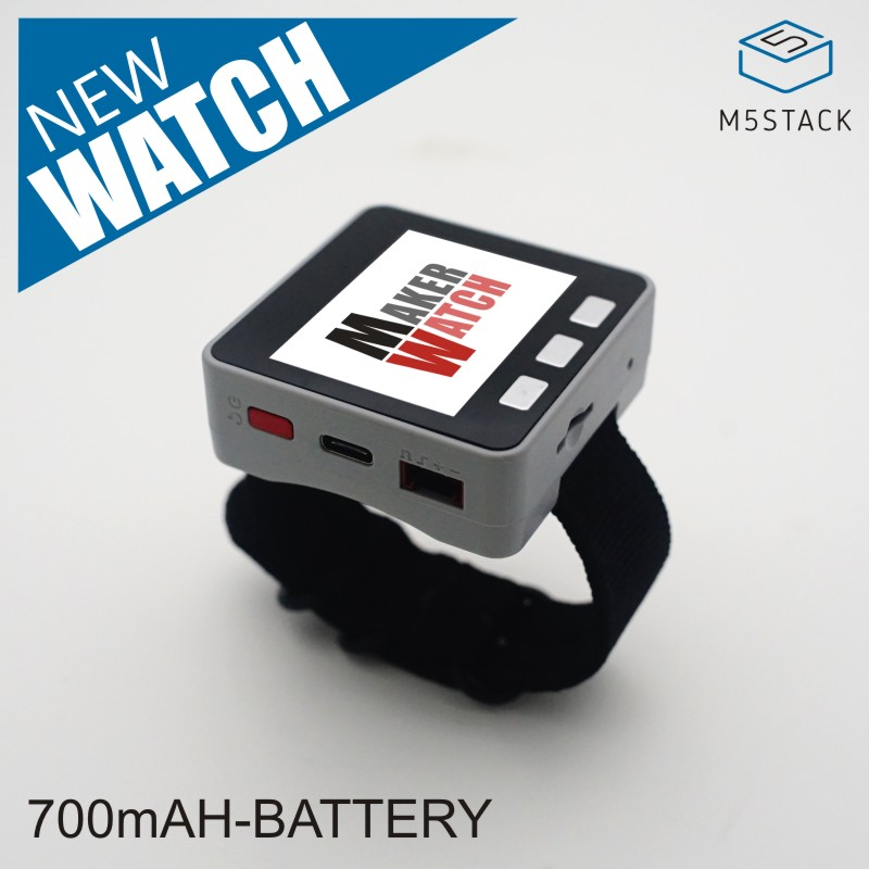 M5Stack Multi-function Watch! With 650mAh Battery For M5Stack ESP32 Core