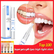 efero White Teeth Whitening Pen Tooth Whitener Gel Remove Stains Oral Hygiene Bleach Essence Dental Care