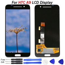 100% New Tested For HTC One A9 LCD Display Touch Screen Digitizer Assembly Replacement 1920*1080 For HTC A9 Display LCD new original for htc flyer htc p510e p512e lcd display tablet lcd screen panel guarranty