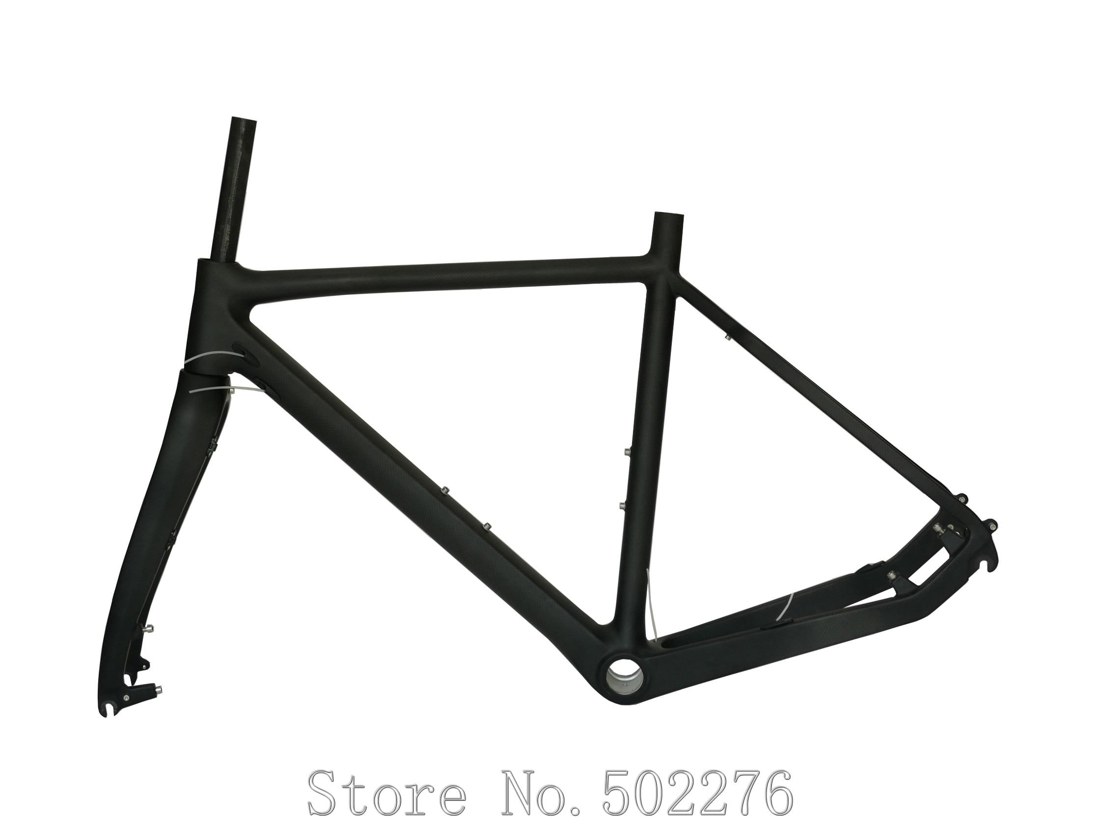 Toray Carbon Cyclocross Bike Disc Brake Cyclo Cross Cycling 700C Bicycle Fork