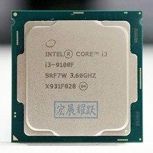 Intel Core i3-9100F SRF7W BO PC Computer Desktop Processor LGA1151 I3 9100F CPU