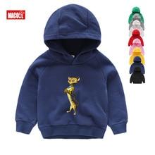 Girls Clothes Hoodies Sweatshirts Cartoon Madagascar Cute Funny Autumn Send 3-15 Years Children Gift