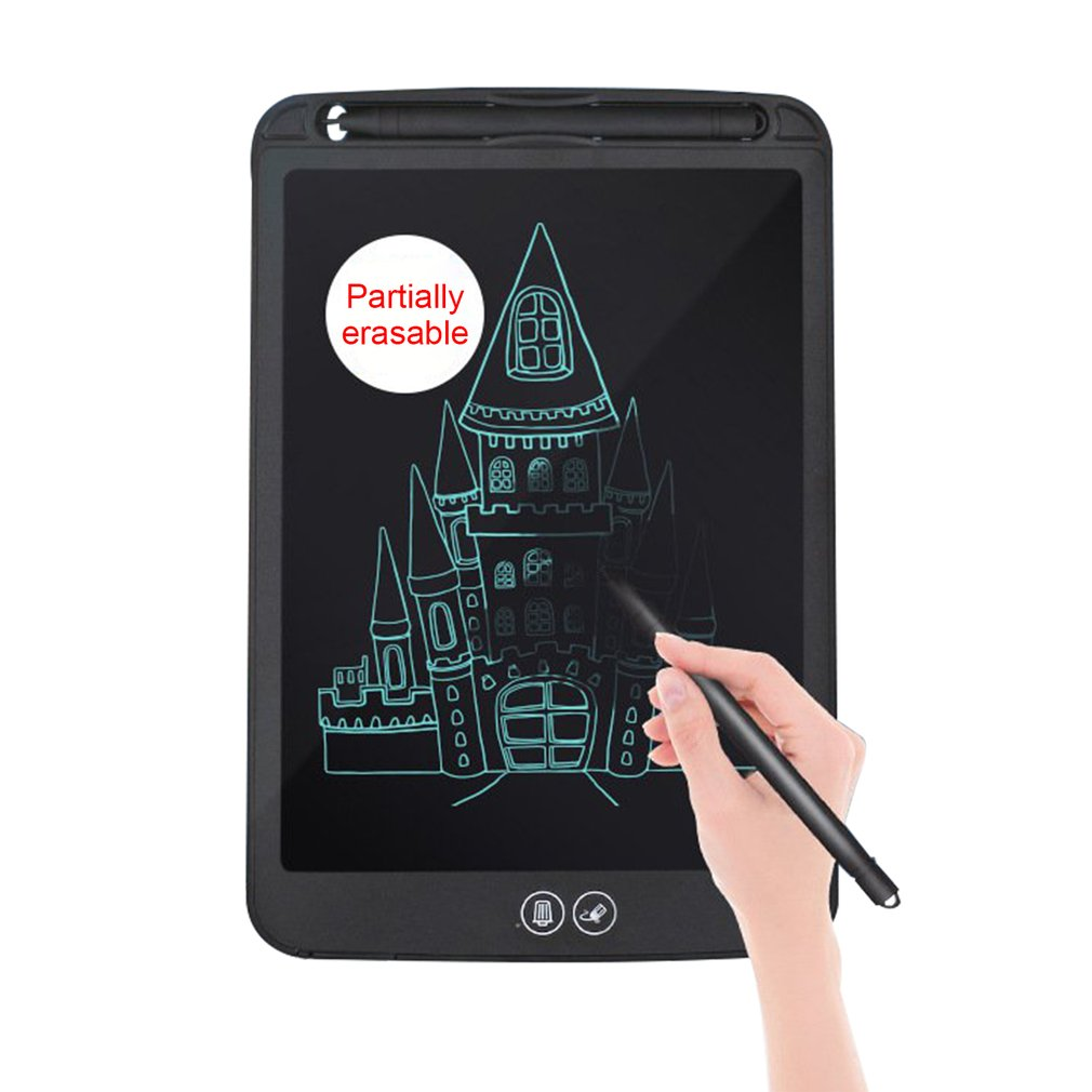 8.5/10/15 Inch LCD Drawing Tablet Digital Writing Graphic Tablets Electronic Handwriting Pad Partially Erasable Drawing Board