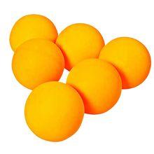 лучшая цена 60pcs/set Table Tennis Balls 40mm PVC Professional Training Ping Pong Balls Racquet Sports Accessories Whit/Yellow Ball