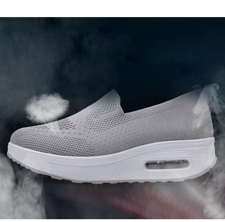 QJ 869-2020 New Spring Autumn Women's Flat Shoes Comfortable Nurse Sneakers-3